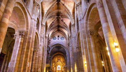 Avila Cathedral Basilica Castile Spain Wall mural