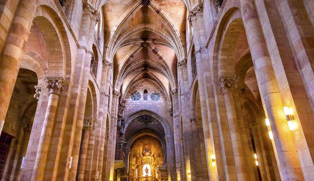 Avila Cathedral Basilica Castile Spain