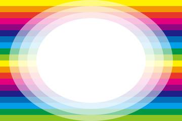 背景素材壁紙,虹色,レインボーカラー,カラフル,フレーム,文字スペース,メッセージカード,文字入れ用