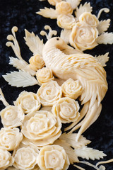 carved cheese