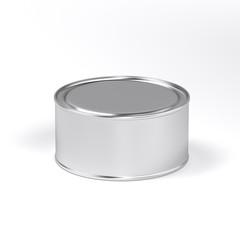 puszka aluminiowa na farbę