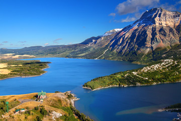 Wall Mural - Waterton Lakes National Park in Canada