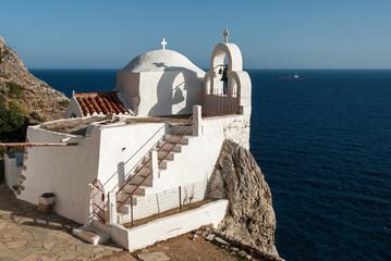The Monastery of Saint Irene near Cape Maleas in Peloponnese, Greece