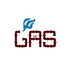 gas industry vector design template