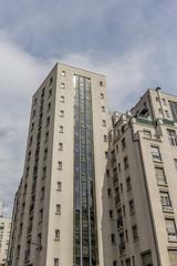 Immeubles du Quartier des Gratte-ciel à Villeurbanne