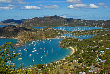 Acrylic Prints Caribbean English Harbor Antigua