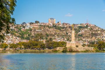 View at the Antananarivo from Anosy lake