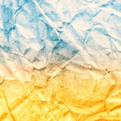 Sandy beach and blue sea vintage paper texture. Abstract Summer