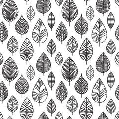 Autumn seamless leaf pattern