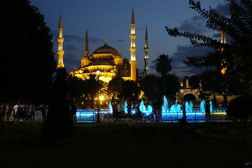 Blue Mosque,Istanbul,Turkey,