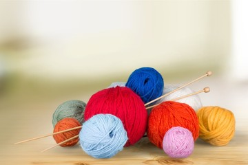 Knitting craft.