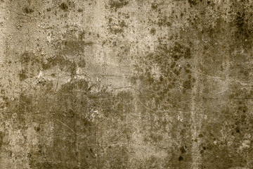 Old dirty concrete textures for background - vintage filter effe