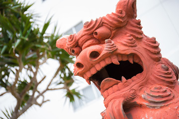 沖縄のシーサー