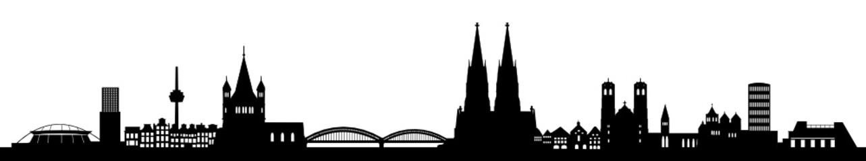 Skyline Köln Fototapete