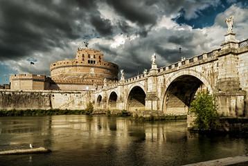 Fototapete - Castel Sant'Angelo, Rome