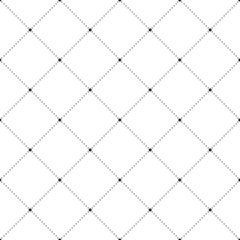 Squares and Dots Seamless Pattern