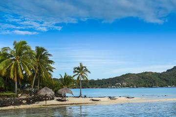 Spiaggia isola privata Bora Bora
