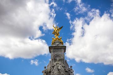 Victoria Memorial in London, UK