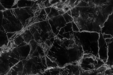 Black marble texture background (natural patterns), detailed structure of  abstract marble texture for design.