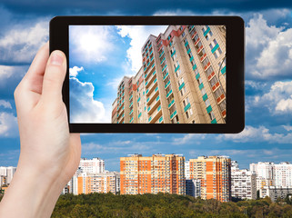 photographs picture of urban houses