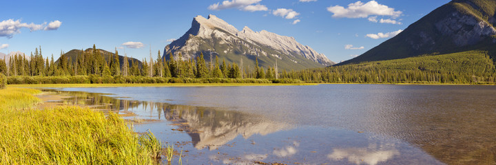 Vermilion Lakes and Mount Rundle, Banff National Park, Canada