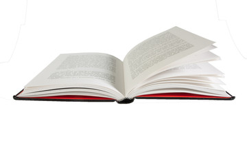 Like an open book