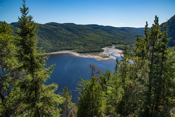 baie eternite im nationalpark saguenay fjord kanad