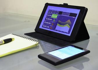Dashboard and smartphone