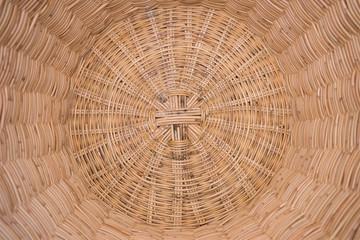 Basket wicker Thai handmade