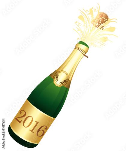 2016 champagne bottle celebration icon vector illustration fichier vectoriel libre de. Black Bedroom Furniture Sets. Home Design Ideas