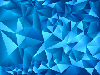 Bright polygon background