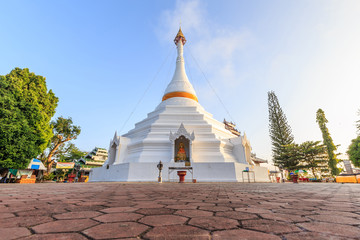 Wat Phra That Doi Kong Mu temple on a mountain top
