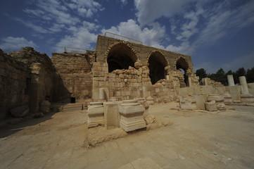 Crusader Church in Beit Guvrin