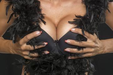 Big Breasts in hands