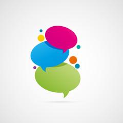 bulles de dialogue,communication