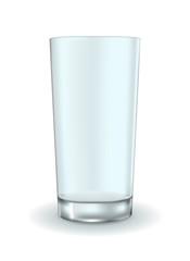 Glass. Empty water glass