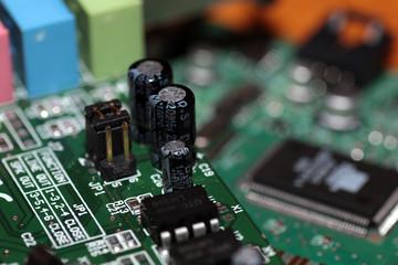 Computer chipset track