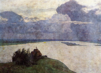 Above Eternal Peace (Isaac Levitan, 1894)