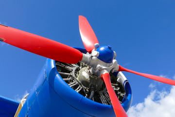 Alter Flugzeugreifen