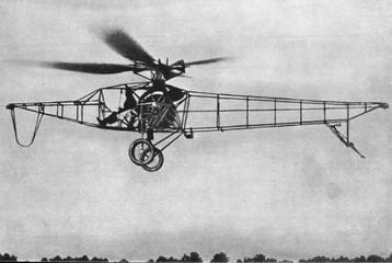 First soviet helicopter TsAGI 1-EA (1932)