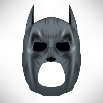 Superhero Grey Mask