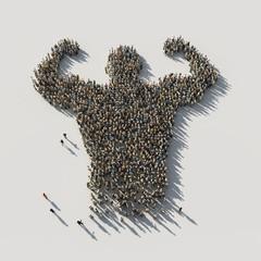 power man of crowds