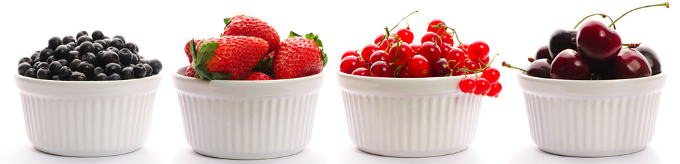 Berry in bowl collection