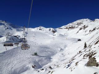 Winterlandschaft - Schneeberge