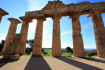 selinute sito archeologico antica civiltà greca