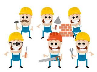 bau team handwerker