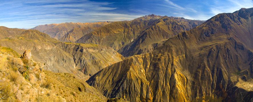 Colca Canyon panorama