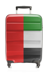 Suitcase with national flag series - United Arab Emirates
