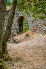 Ruines du château Saint-Gérald à Givors