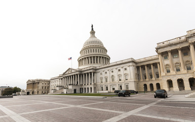 The eastern facade of the US Capitol Building, Washington DC
